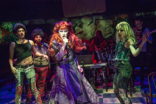 Hedwig and the Angry Inch at Theo Ubique. (Austin D. Oie Photography)