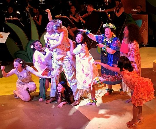 Cast of 'Flower of Hawaii' (Photo courtesy of Folks Operetta)