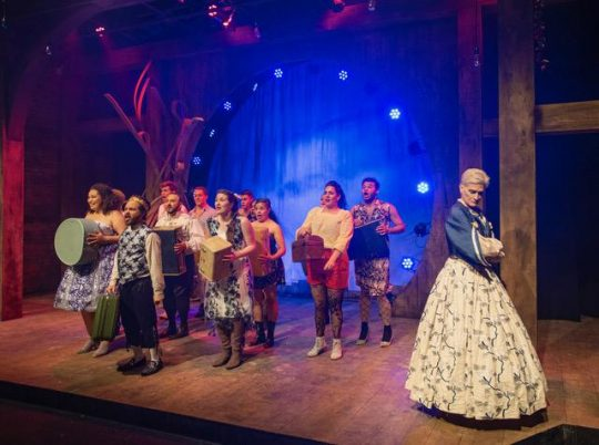 'Head Over Heels' at Theater Wit. (Photo by Michael Brosilow)