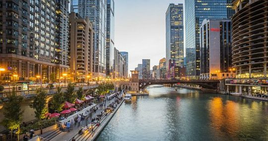 Chicago Riverwalk (Photo courtesy of City of chicago and Dept. of cultural Affairs and special Events)