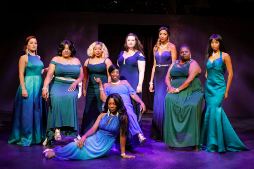 Cast of Women of Soul at Black Ensemble Theater. (Alan Davis photo)