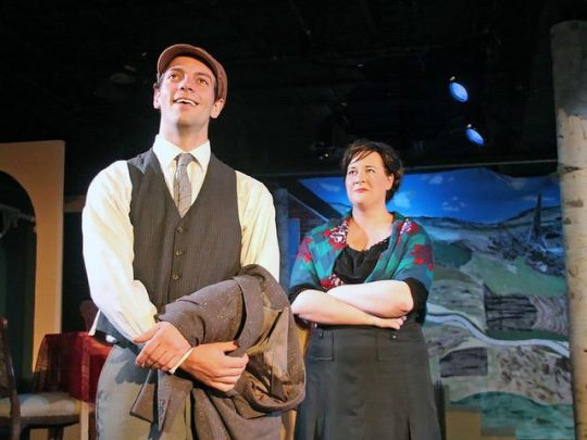 Sons and Lovers at Greenhouse Theater. (photo courtesy of On the spot Theatre Company)