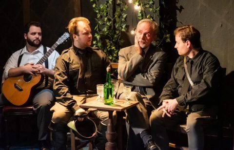 L-R: Jack Morsovillio, Mitchell Spencer, Chuck Munro, Erik Schiller. (Photo by Brian McConkey)